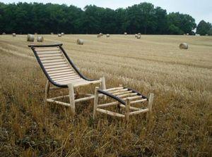ALAIN DUPASQUIER -  - Garden Deck Chair