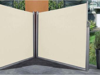Imagin - paravent rétractable double 6 mètres ecru - Screen