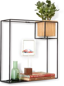 Umbra - etagère design avec jardinière - Multi Level Wall Shelf