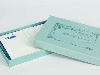 Benneton - baleine - Correspondence Box