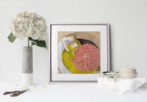 la Magie dans l'Image - print art enceinte - Decorative Painting