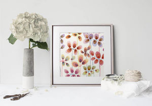 la Magie dans l'Image - print art flowers - Decorative Painting