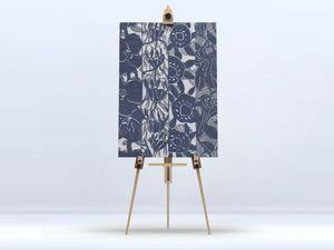 la Magie dans l'Image - toile végétal gris foncé - Digital Wall Coverings