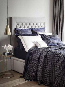 GINGERLILY - geometric navy - Bed Linen Set