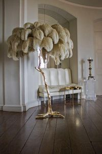 A MODERN GRAND TOUR - the feather -- - Floor Lamp