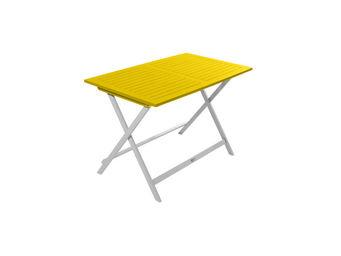 City Green - table de jardin pliante rectangulaire burano - 113 - Folding Garden Table