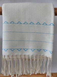 CHIC INTEMPOREL - -brodée motifs berbères - Fouta Hammam Towel