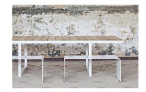 COLECT - b-myguest - Rectangular Dining Table