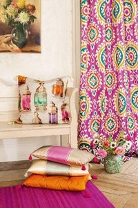 Manuel Canovas - daya fuchsia - Upholstery Fabric