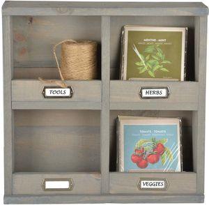 Esschert Design - etagère de jardin murale en pin - Outdoor Shelf