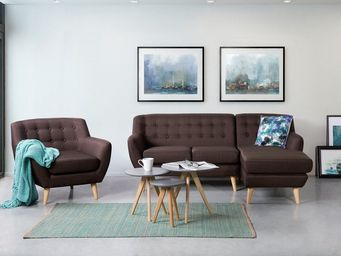 BELIANI - canapé d'angle - Adjustable Sofa