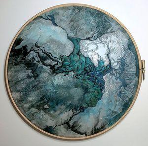 CLEMENTINE BRANDIBAS - -entre ciel et mer - Embroidery