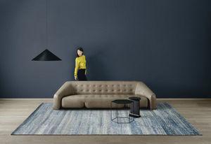 AMINI - ocean blue - Modern Rug