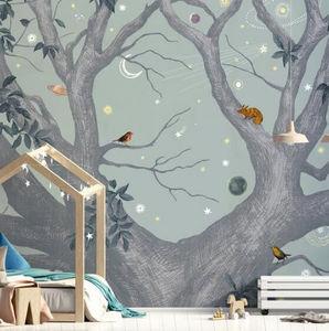 ISIDORE LEROY - arbracadabra jour - Children's Wallpaper