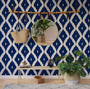 4murs - losange indigo - Wallpaper