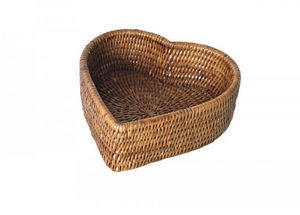 ROTIN ET OSIER - coeur timéa - Bread Basket