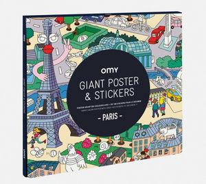 OMY - paris - Colouring Book
