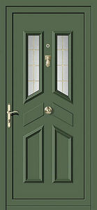 Aluporta -  - Glazed Entrance Door