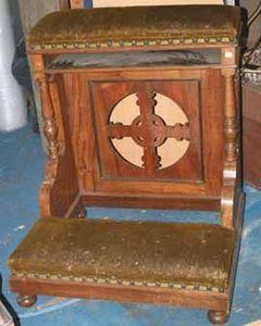 PNEC BERTIN -  - Prie Dieu Chair