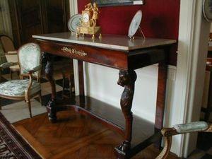 Antiquités NANINCK et LENGAIGNE -  - Console Table