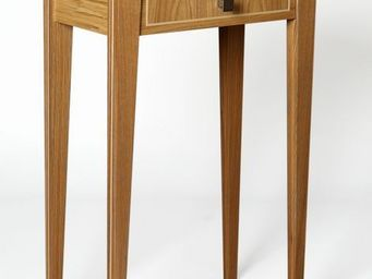 Gerard Lewis Designs - elegance: hall table with drawer in oak - Console Table