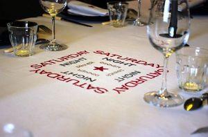 Vanille Acajou -  - Rectangular Tablecloth