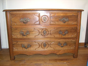 ANTIQUITES THUILLIER - commode louis xiv - fin xviii ème - Chest Of Drawers