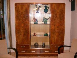 Philippe Pope - bibliothèque art déco - Bookcase
