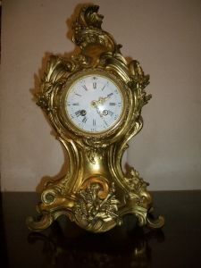 Antiquités Anne & Thierry - cartel napoléon iii - Desk Clock