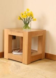 Andrena Reproductions - kn233 lamp table - Coffee Table With Shelf