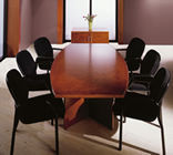 Act Furniture Manufacturers - nimbus stormy oak - Meeting Table