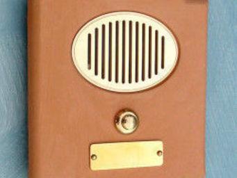 Replicata - klingelplatte terracotta 1 klingelknopf - Door Bell