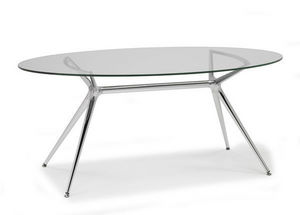 SCAB DESIGN - metropolis - Oval Dining Table