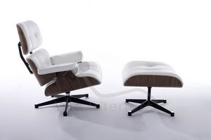VITA INTERIORS - lounge chair & ottoman - Armchair And Floor Cushion