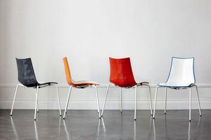 SCAB DESIGN - zebra bicolore - Chair
