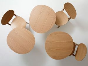CLAESSON KOIVISTO RUNE - olive - Round Diner Table