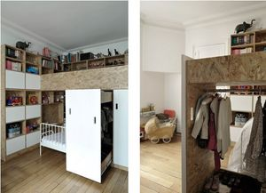 CIEL ARCHITECTES - children duplex - Children's Bedroom 4 10 Years