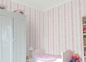 Ohmywall - papier peint fables de la fontaine filles - Children's Wallpaper
