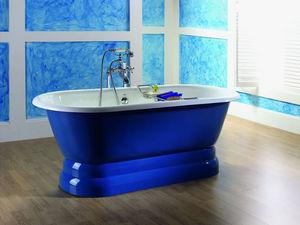 BLEU PROVENCE - vintage con base - Freestanding Bathtub