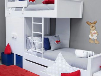 BABYROOM - litera tren - Children Bunk Bed