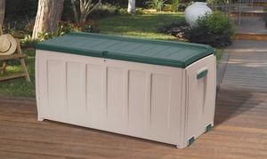 KETER - coffre de jardin 340 litres en résine 125x56x61cm - Outdoor Chest