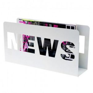 Present Time - present time - porte revues news - present time - - Magazine Holder