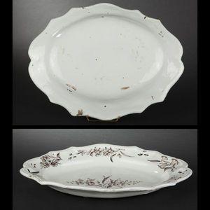 Expertissim - luneville. plat ovale - Serving Dish