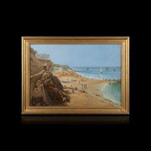 Expertissim - paul joseph barian. saint- malo - Landscape Painting