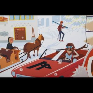 Expertissim - charlie adam. l'après-ski à megève - Contemporary Painting