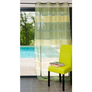 Maisons du monde - rideau intense vert - Eyelet Curtain