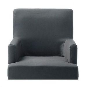 Maisons du monde - housse ardoise fauteuil de bar lounge - Armchair Cover