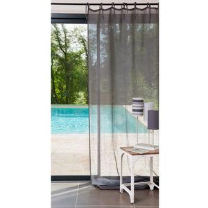 MAISONS DU MONDE - rideau lin anthracite - Lace Curtain