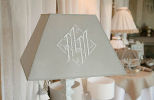 Escapades Champetres -  - Embroidered Lampshade