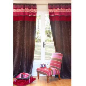 MAISONS DU MONDE - rideau sanskrit - Tab Top Curtain
